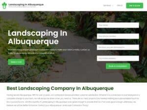 Landscaping in Albuquerque